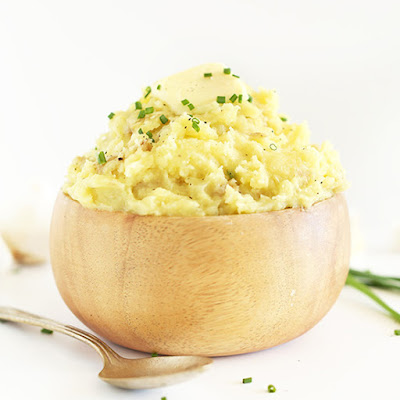 The Best Damn Vegan Mashed Potatoes