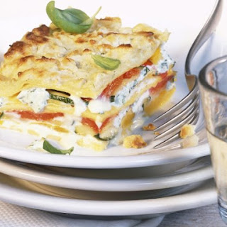 Colorful Lasagna with Vegetables