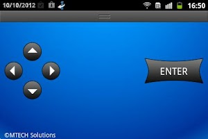 Screenshot of Smart TV Gamepad