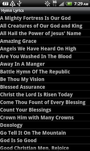 The Old Time Gospel Ministry: Favorite Hymns