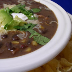 Heart and Soul Black Bean Soup
