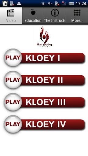 KLOEY™ - Pilates Workout I