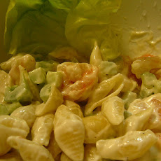 Marlin's Shrimp Pasta Salad