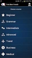 Screenshot of Learn French - Très Bien