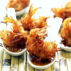 Coconut Shrimp with Maui Mustard Sauce