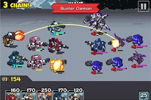 Screenshot of Combat Bots Cosmic Commander