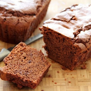 Chocolate Brownie Quick Bread
