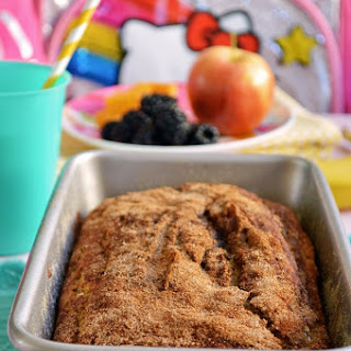 Gluten Free Maple Cinnamon Applesauce Bread