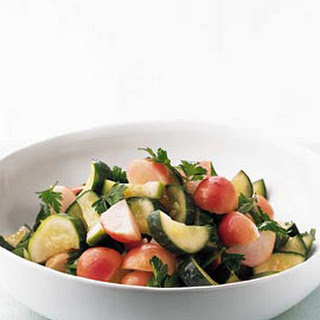 Brined Cucumber and Radish Salad