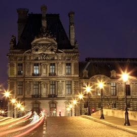 Pont Royal by Almas Bavcic - City,  Street & Park  Street Scenes