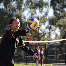 Volleyball Match by Julia Goh - Sports & Fitness Other Sports