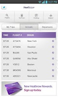 Screenshot of Heathrow Airport Guide