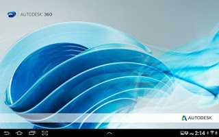 Screenshot of Autodesk 360 Mobile