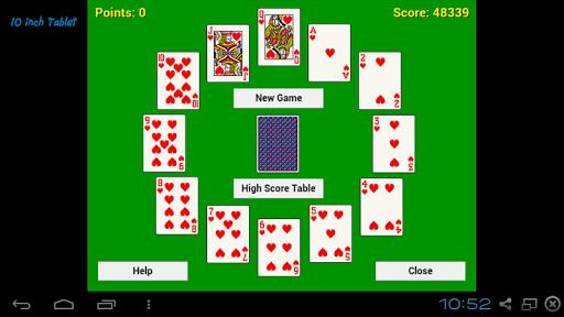 Clock Solitaire - screenshot