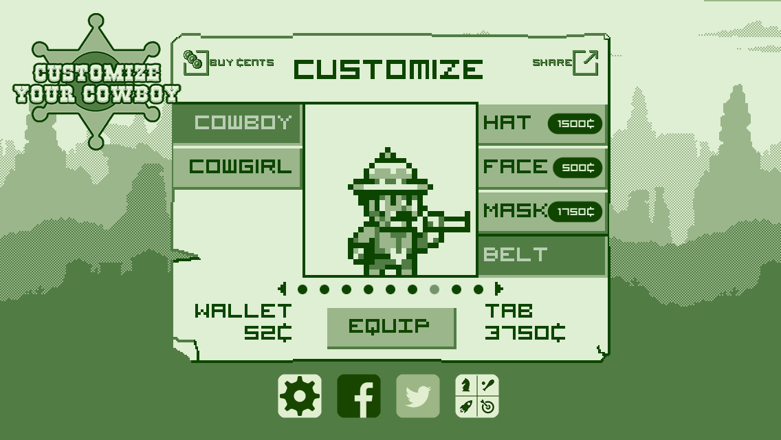 2-bit Cowboy Screenshot 2