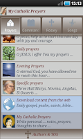 Screenshot of My Catholic Prayers