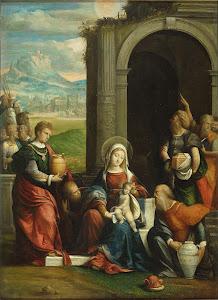 RIJKS: Benvenuto Tisi da Garofalo: painting 1540