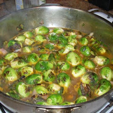 Roasted Brussels Sprouts With Shallots and Fresh Garden Thyme