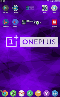 Oneplus Live Wallpaper - screenshot