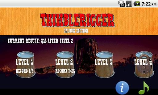 Thimblerigger Free