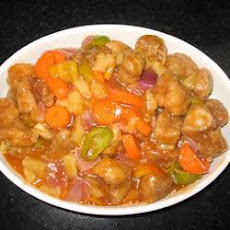 Singapore Sweet and Sour Pork