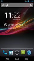 Screenshot of Countdown for DashClock