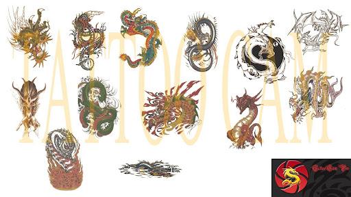 TattooCam Pack - Dragon set 1