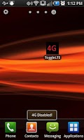 Screenshot of 4G LTE Toggle for CHARGE