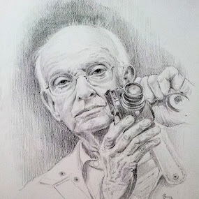 Henri Cartier Bresson by Alfonso Rahardja - Drawing All Drawing