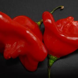 flower pepper by Ruy Lopes - Food & Drink Fruits & Vegetables ( pimento flor )