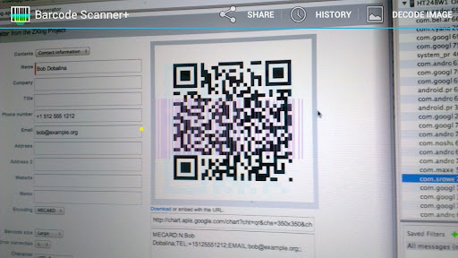 Barcode Scanner+ (Plus) app (apk) free download for Android/PC/Windows screenshot