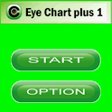 Eye Chart plus 1 icon