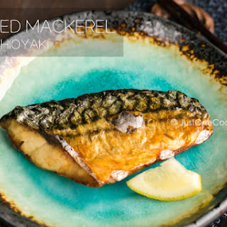 Grilled Mackerel (Saba Shioyaki)