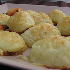 Potato Gruyere Puffs