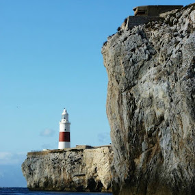 Trinity Lighthouse Gibraltar by Gabrielle Phillips - Buildings & Architecture Public & Historical ( gibraltar, lighthouse, trinity house,  )