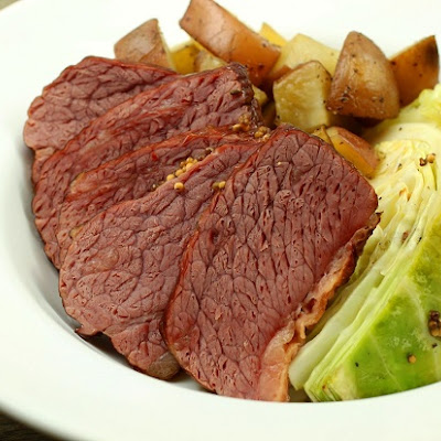 Barbecue Corned Beef Brisket