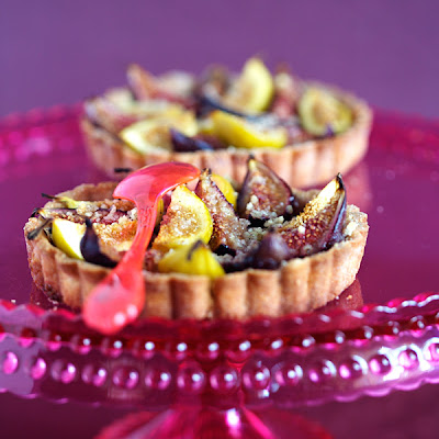 Gingered-flavored Fig Tartlets
