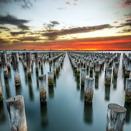 Princes Pier, Port Melbourne by Zubair Aslam - Buildings & Architecture Other Exteriors ( port, port melbourne, melbourne, princes pier, pier )