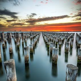 Princes Pier, Port Melbourne by Zubair Aslam - Buildings & Architecture Other Exteriors ( port, port melbourne, melbourne, princes pier, pier,  )