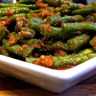 Stir Fry Sambal Long Beans