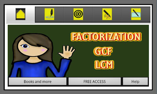 Factorization GCF and LCM