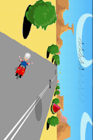 Screenshot of vespa driver