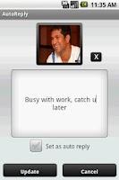 Screenshot of AutoReply
