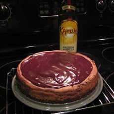 Chocolate Kahlua Cheesecake