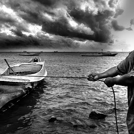 fisherman by Asmadi Sanaky - People Professional People