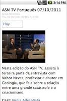 Screenshot of Notícias Adventistas (Pt)