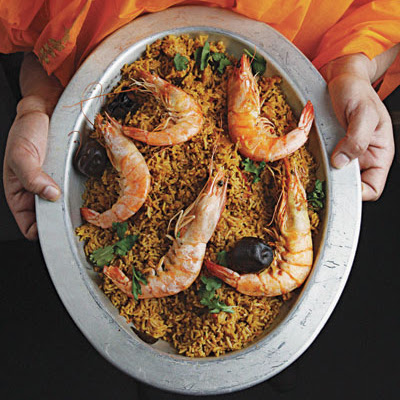 Machbuss Rubian (Shrimp and Rice Pilaf)