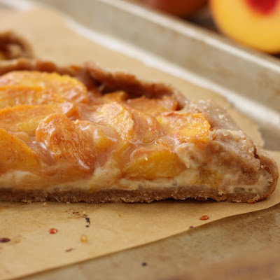 Peaches and Cream Crostata