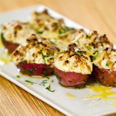Roasted Baby Potatoes With Fresh Sausage, Herbs And Ricotta