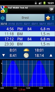 FR Tides screenshot for Android